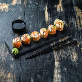 Фіт рол з лососем (180/70г)