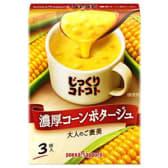 Rich corn potage soup