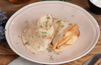 კარტოფილის პიურეთი, სოკოთი/Mashed potatoes, mushrooms