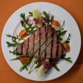 Tuna steak sa žara