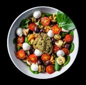 Amanida trottole amb pesto (bowl de 1.5 lt.)
