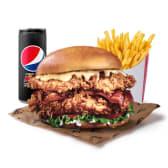Menú La Mítica Burger