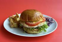 Цезар бургер меню (210/100/80/30г)