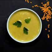 Чечевичний кремовий суп