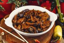 F7-შემწვარი ქათმის ხორცი ჩინური შამპინიონით