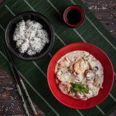 Страва Морепродукти в часниковому соусі (350г)