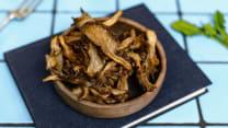 Sautéed Mushroom Chips