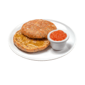 Tostada Multicereal Con Aceite Y Tomate