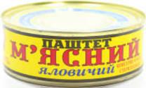 Паштет Мясний яловичий ТМ Онис