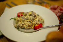 Chicken Salad with Mushrooms