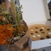 Pack Ramo Flores Preservadas + Megacookie