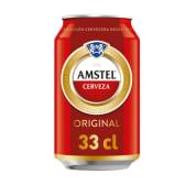 Cerveza con alcohol AMSTEL (33cl.)