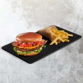Bacon Cheeseburger + Frech Fries