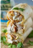 Lebanese Chicken Shawerma Sandwich Large