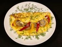 Омлет з овочами (160г)