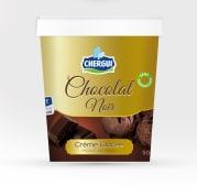 Crème glacée - chocolat noir - 500 gr