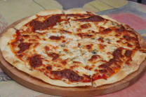 ლურჯი ყველის პიცა