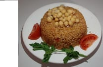 Boulgur with chickpea