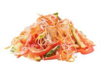 Салат з фунчозою та овочами (200г)