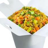 ბრინჯი ბოსტნეულით / Rice with Vegetables