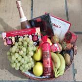 Caja Delicatessen Gourmet + Ramo De 12 Rosas