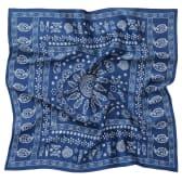 აბრეშუმის შარფი (სქელი) - მეიდანი - ლურჯი