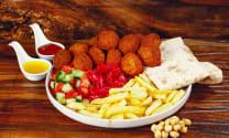 Falafel patties 10