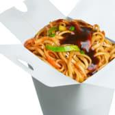 ლაფშა ბოსტნეულით ჩაუ-მეინი / Vegetable Noodles Chow Mein