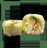 128. Uramaki California katsu vegetal (8 uds)