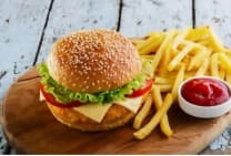 Chicken Burger Complet