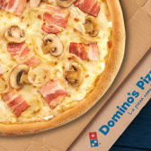 Pizza Familiar - Carbonara