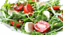 Caprese with Arugula Salad