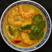 Тайське карі з креветками (300г)