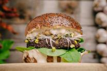 Superfood Vegan burger Double
