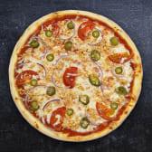 პიცა ცხარე ქათმით