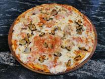 პიცა ზღვის პროდუქტებით (ზღვის პროდუქტები 30 %) 450გრ