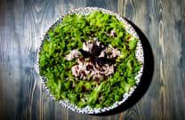 ქათმის სალათი იმერული სართავით