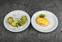 М'ясо по-французьки + кабачки-гриль (390г)