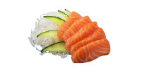 Сашимі лосось (5шт/140г)