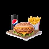 Menú Original Doble Cheese Burger