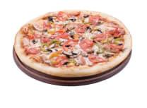 Піца курка-гриби