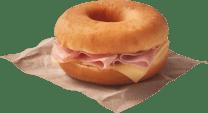 Gourmet Dunkin Sándwich Jamón y queso