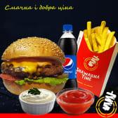 Меню гамбургер