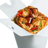 ლაფშა კრევეტით ჩაუ მეინი / Shrimp Noodles Chow Mein