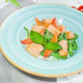 Зелена паста з лососем (300г)