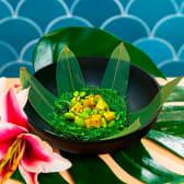 Vegan wakame salad