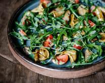 Салат з білими грибами, цукіні і томатами (240г)