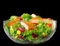 Delight salata s paniranom piletinom