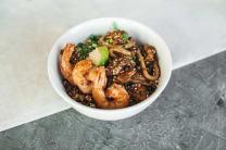 Смажений рис із морепродуктами (300г)