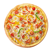 Pizza Vegetariana średnia